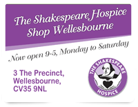 Shakespeare Hospice Shop Wellesbourne
